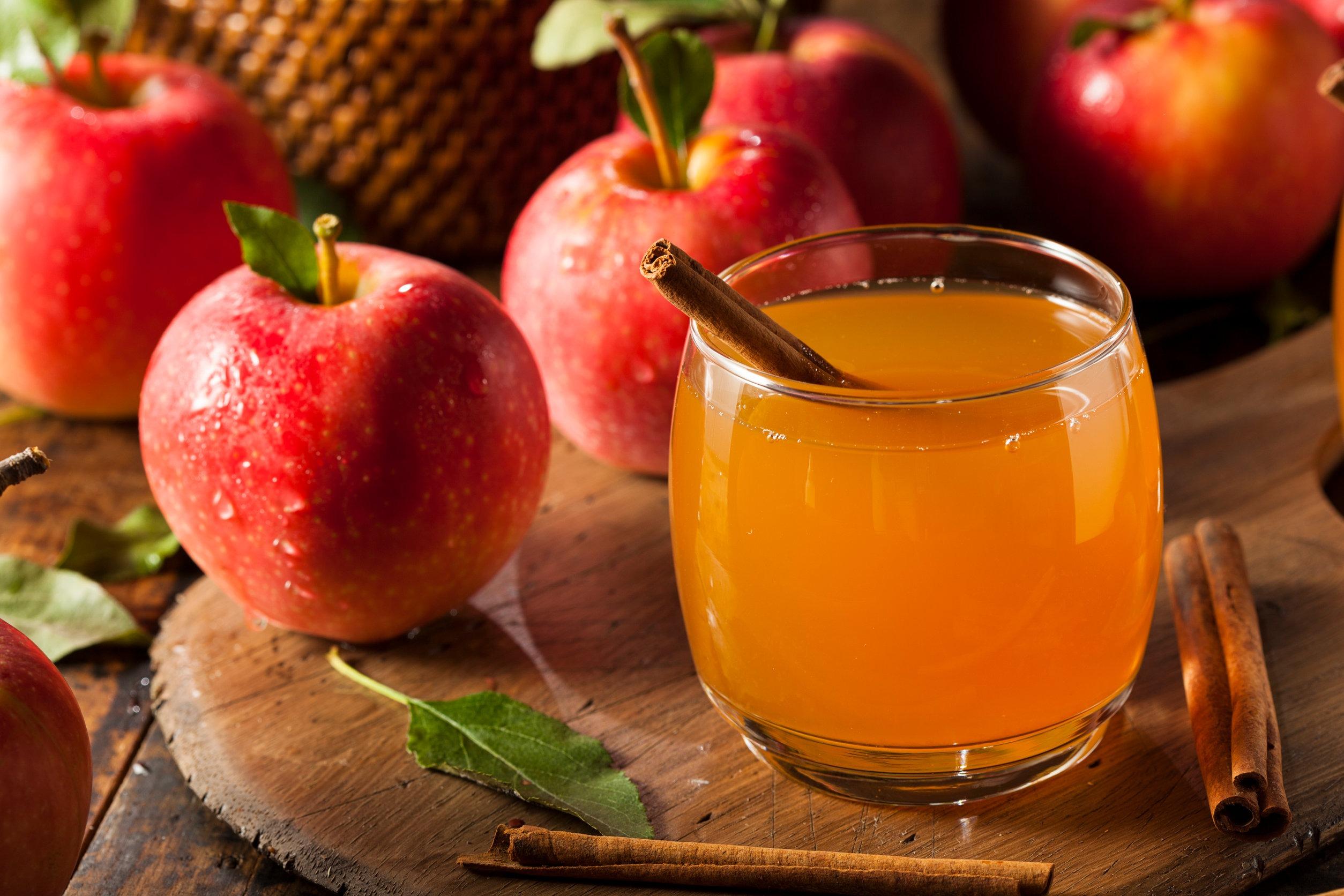 Hot Maple Apple Cider