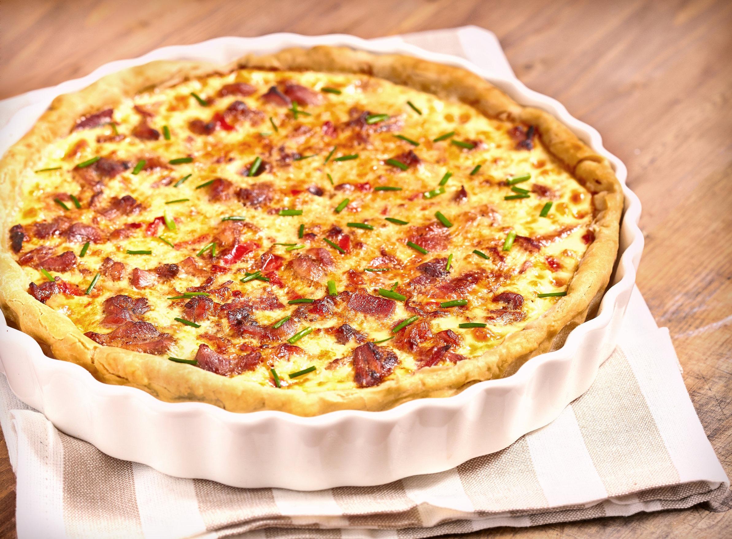 Maple Bacon Quiche