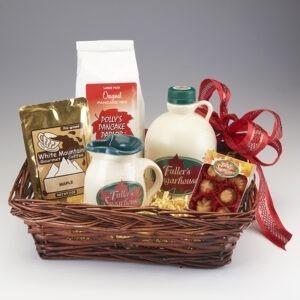 Large Maple Gift Basket