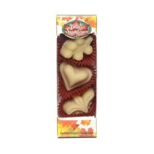 3 Piece Box - Pure Maple Syrup Candy