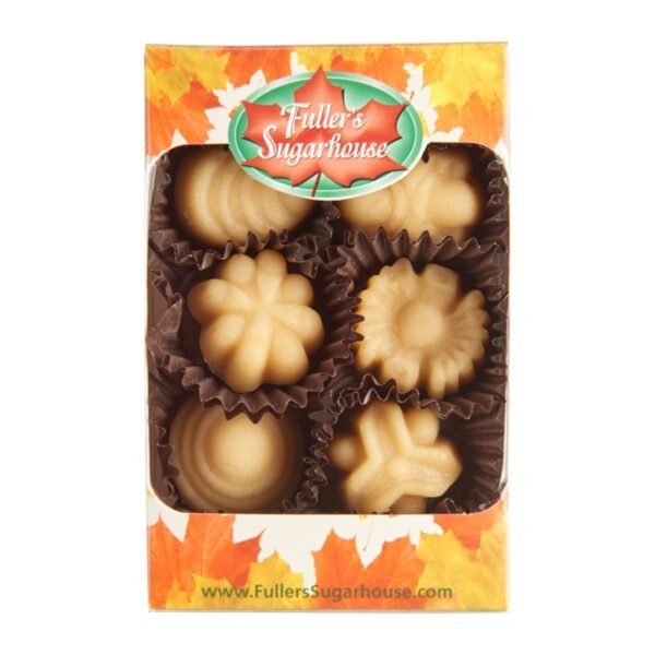 6 Piece Box - Pure Maple Syrup Candy Bulk