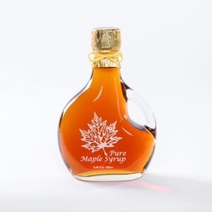 Pure New Hampshire Maple Syrup in Glass Bottles