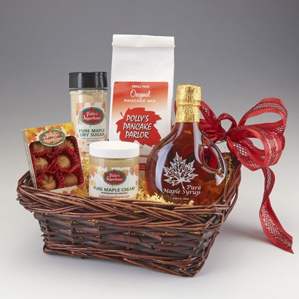 Build Your Own Maple Gift Basket