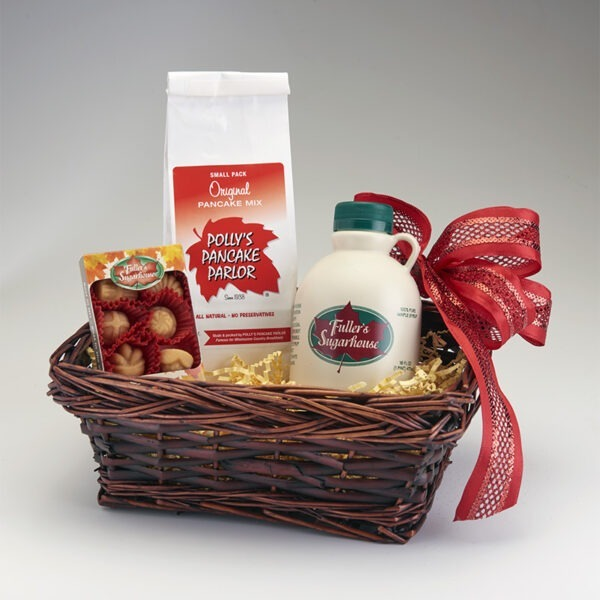 Small Maple Gift Basket