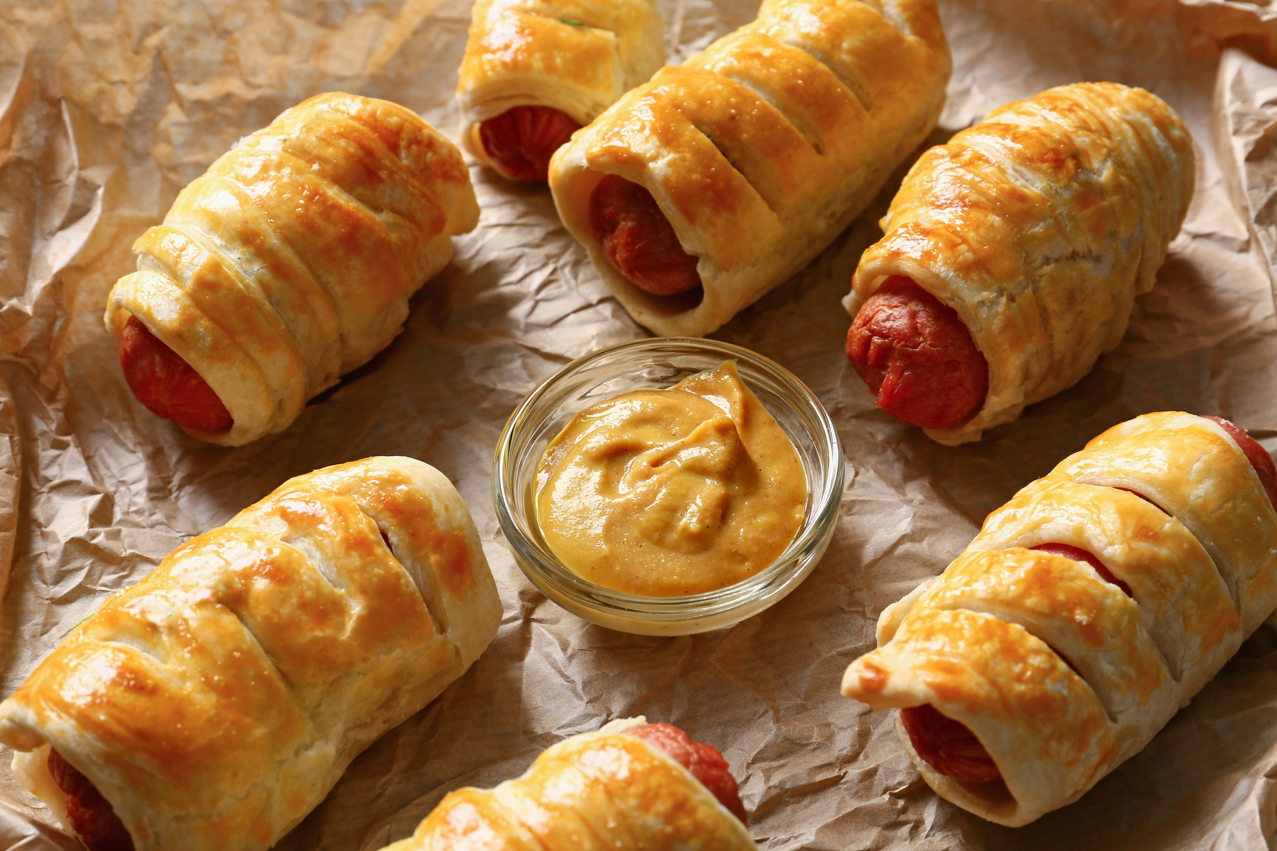 Maple Pigs in a Blanket
