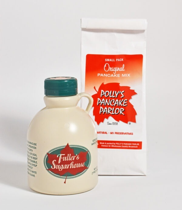 Fuller's Pure Maple Syrup - Polly's Pancake Mix Combo