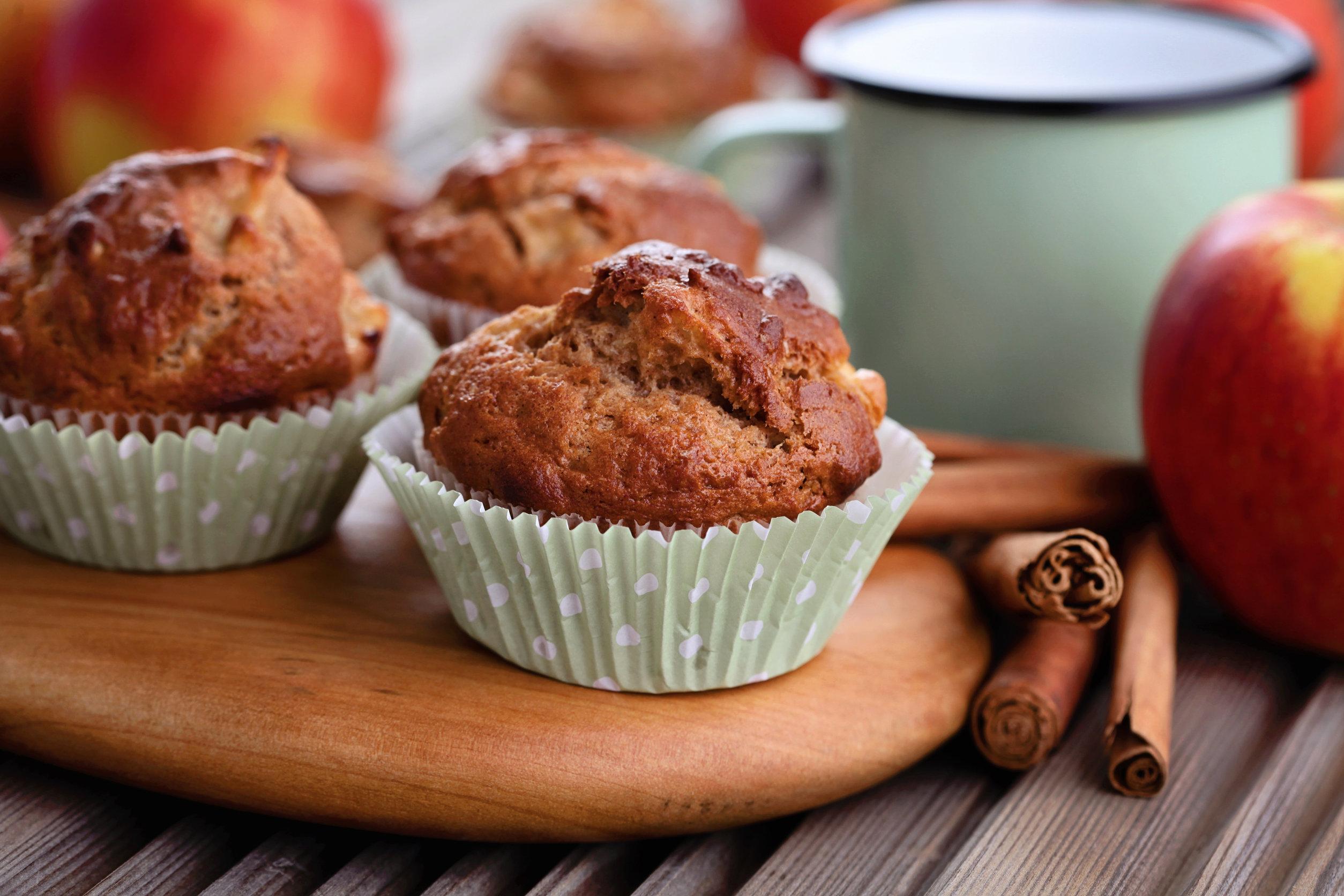 Maple Apple Muffins