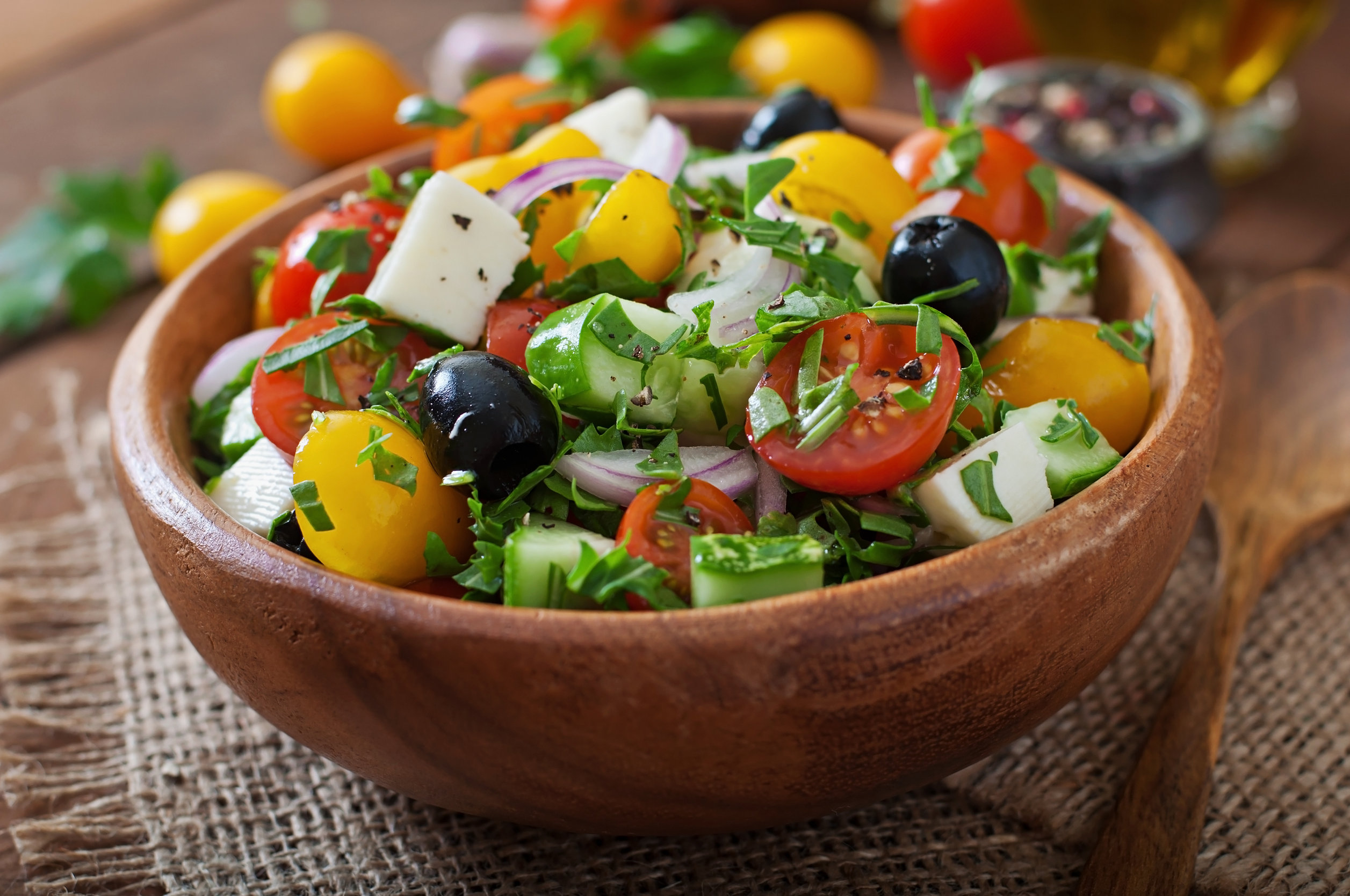 Cucumber Tomato Salad with Maple Vinaigrette