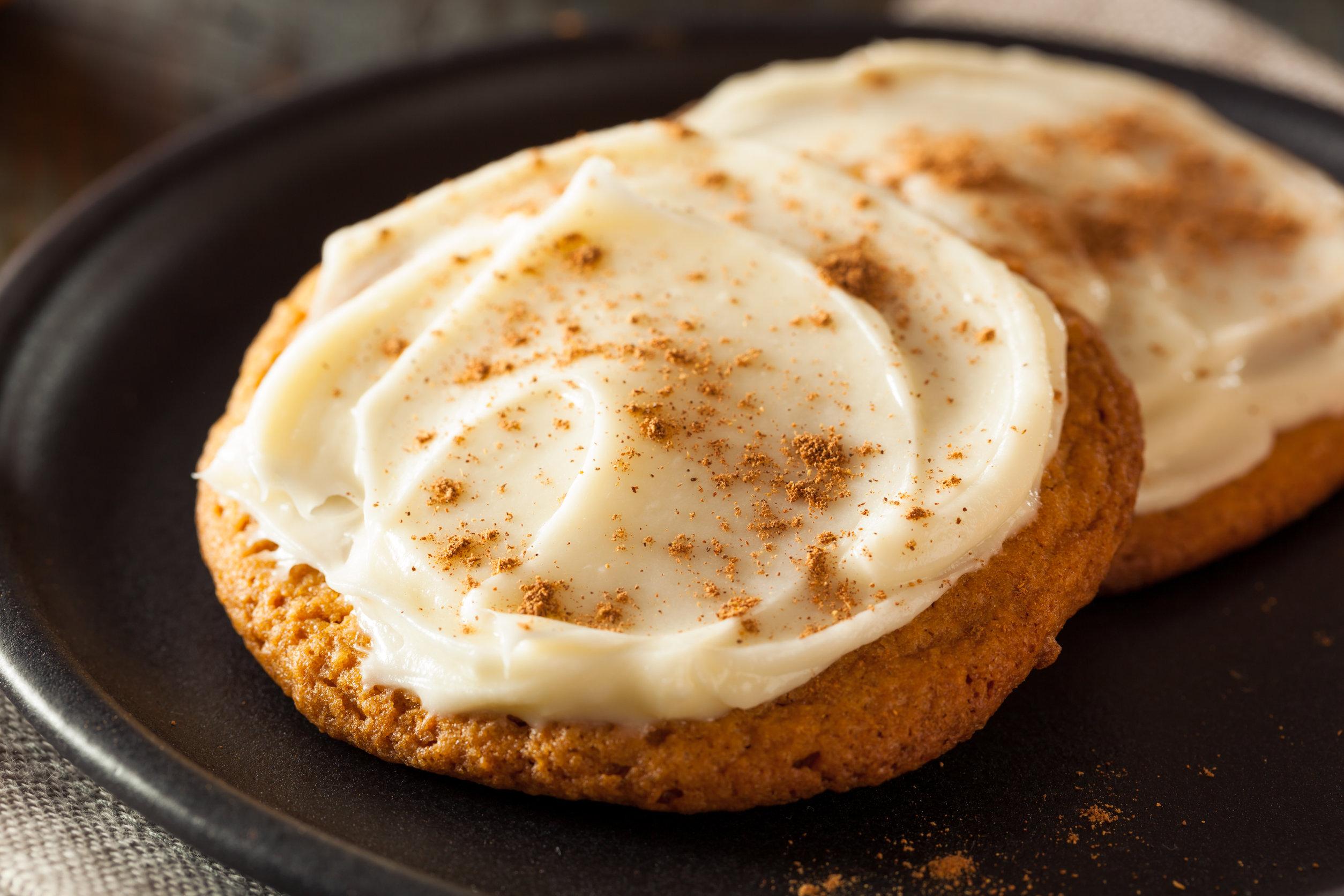 Maple Pumpkin Cookies