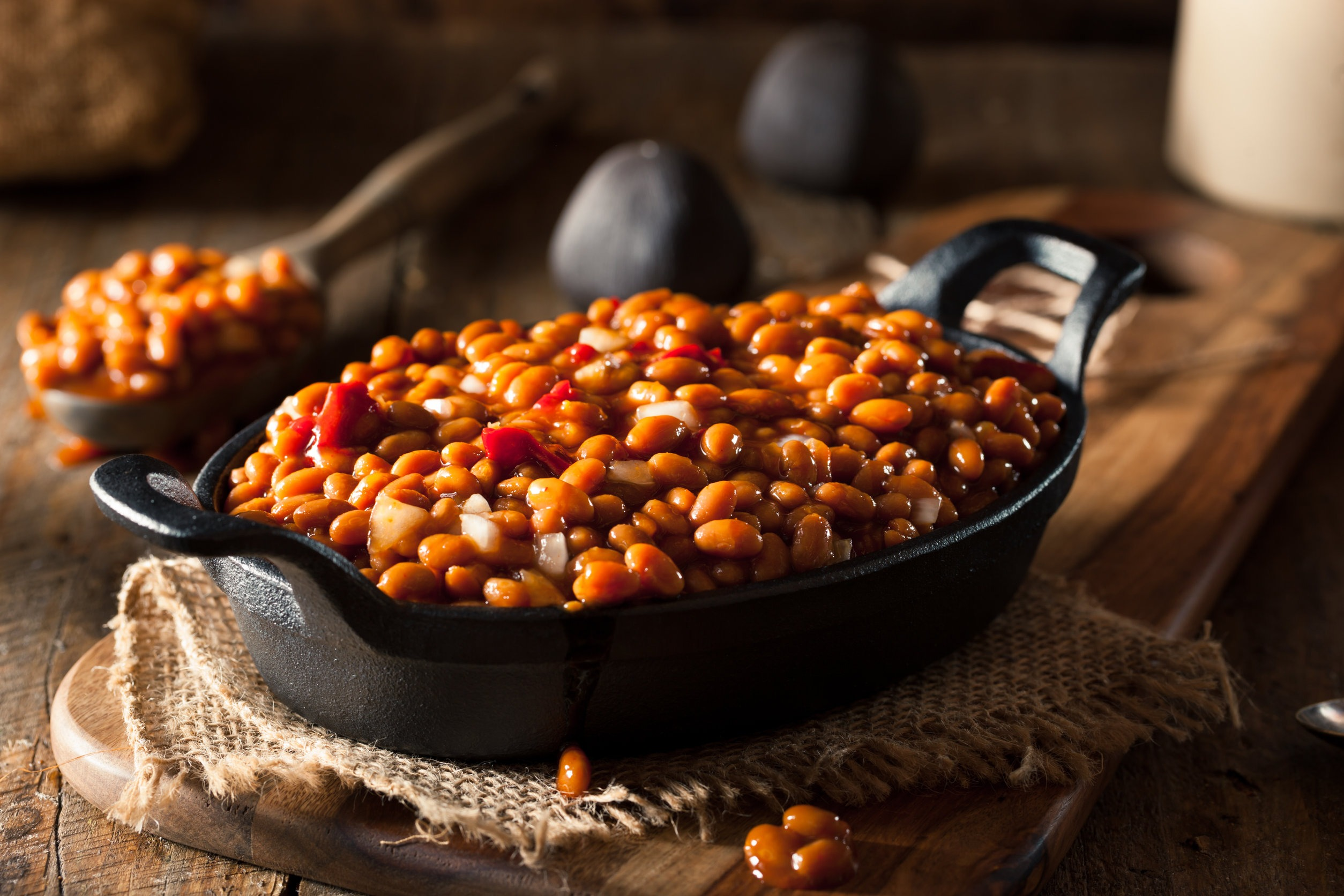 Slow and Sweet Maple Beans