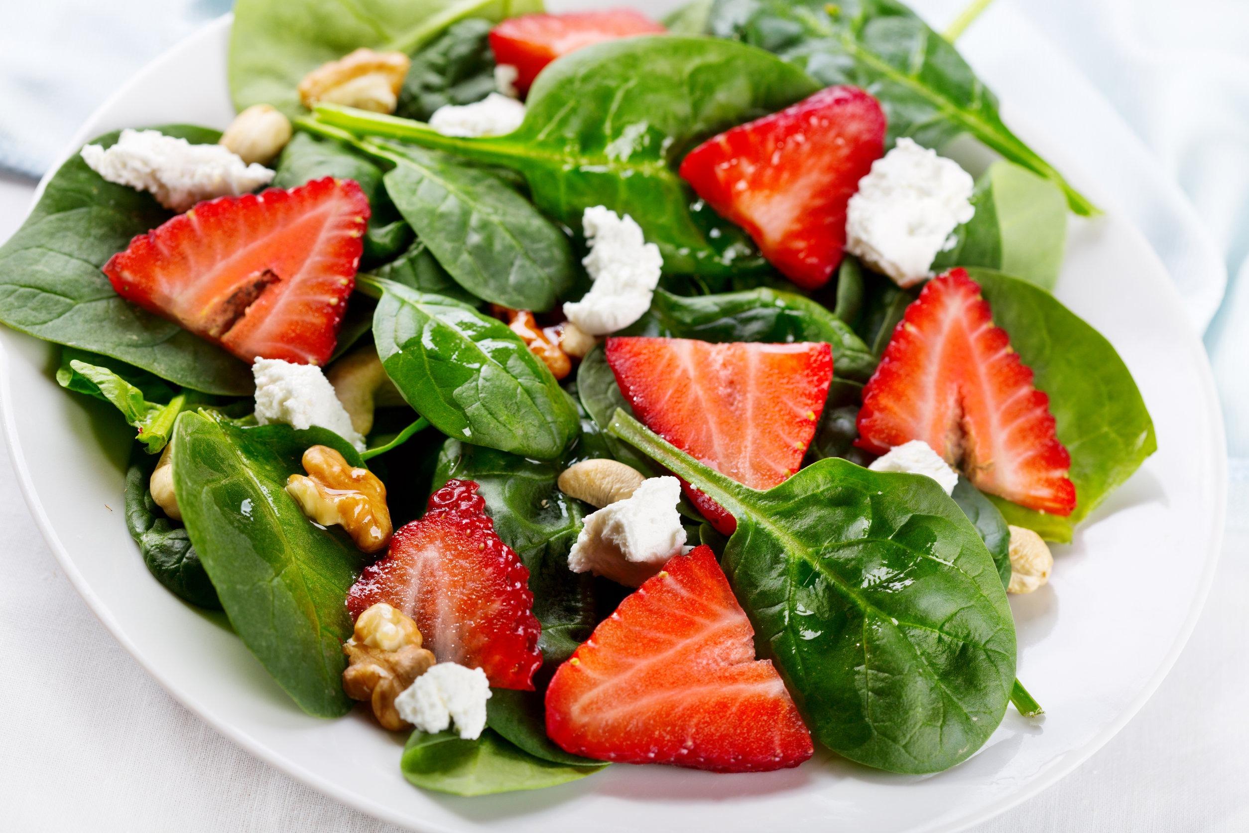 Sweet Maple Strawberry Salad