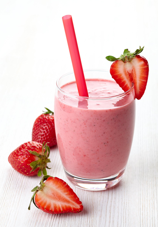 Maple Strawberry Smoothie