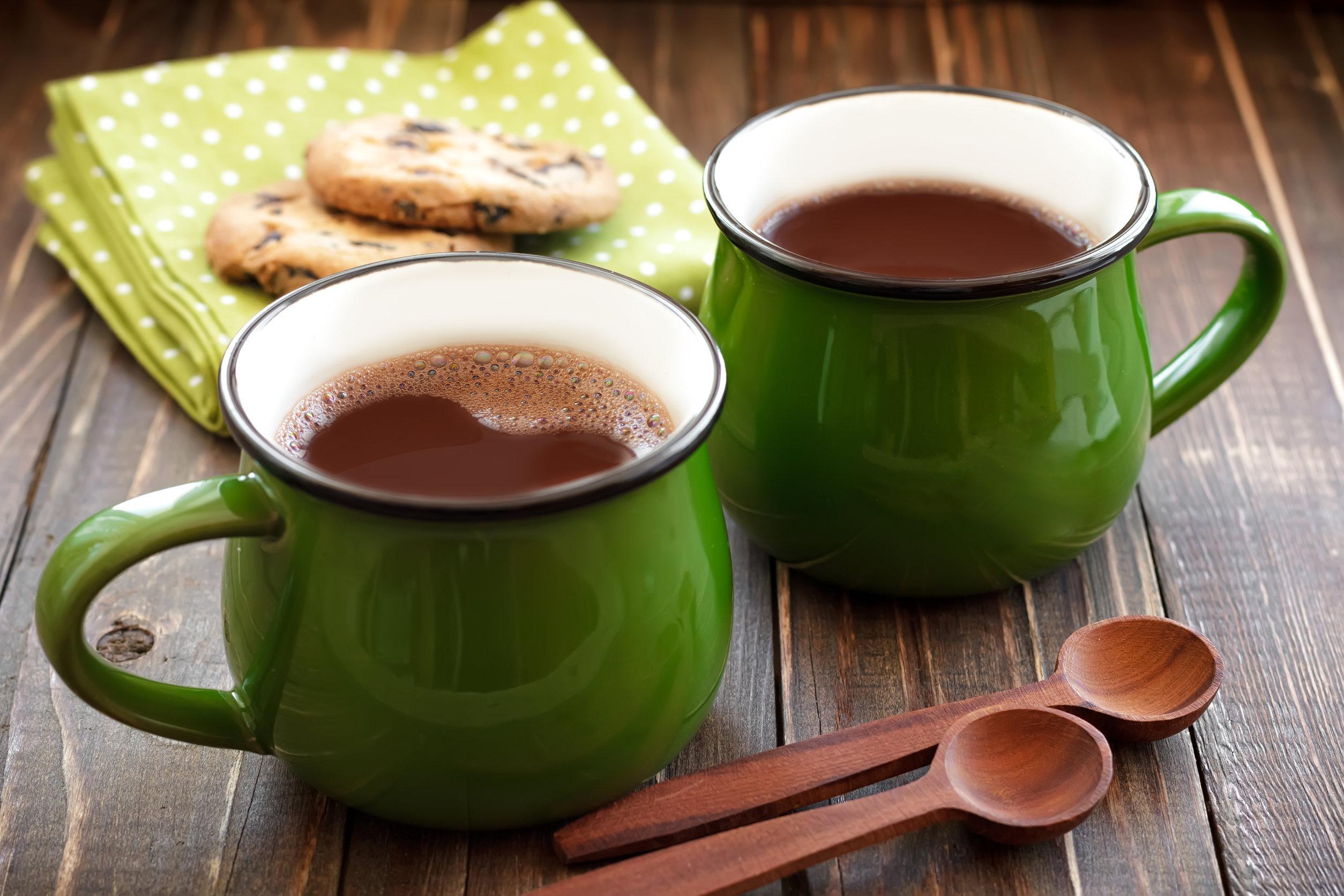 Spicy Maple Hot Cocoa